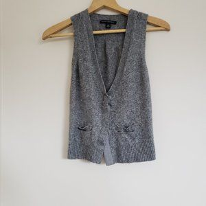 Banana Republic Wool Cashmere Blend Vest Size XS